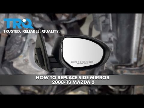 How to Replace Side Mirror 2008-13 Mazda 3