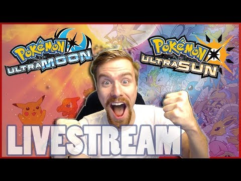Let's Play Pokemon Ultra Sun and Moon   Episode 1 Choose My Starter!   Livestream