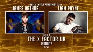 12 Acts Remain on The X Factor UK + James Arthur & Liam Payne!