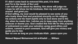 END of my sad story / William
