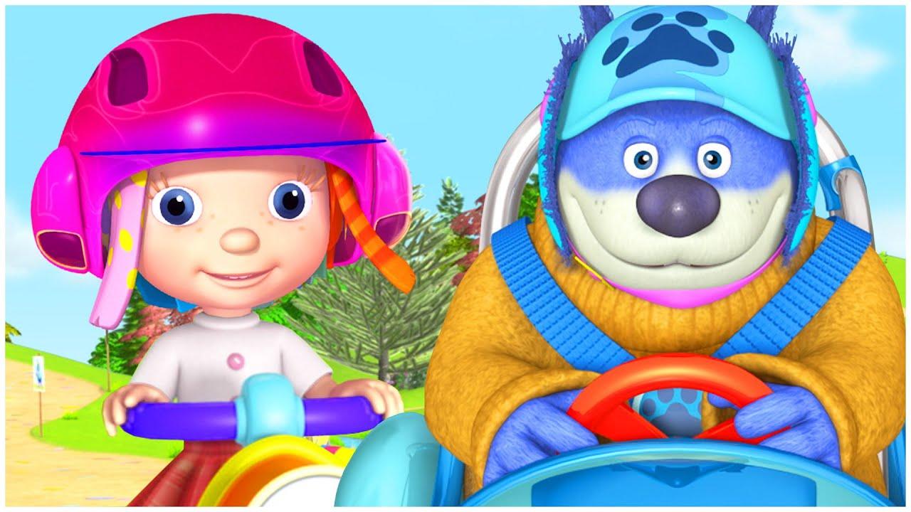 دنيا روزي | حلقات كاملة | تعرف على السلامة على الطرق | أفضل كارتون للصغار