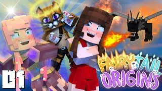 Fairy Tail Origins: NEW GUILD MEMBERS! Ep 1 (Anime Minecraft Roleplay SMP)