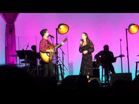 Shallow. Darren Criss and Lea Michele live at the Cosmopolitan Mp3