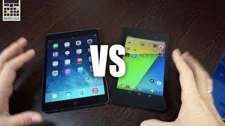 Apple iPad mini Retina vs ASUS Nexus 7 (2013) - производительность и дисплеи - Keddr.com