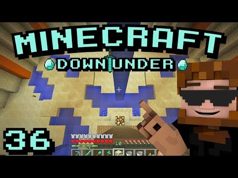 Minecraft Down Under S2 - Episode 36 - Flooding the Canals!