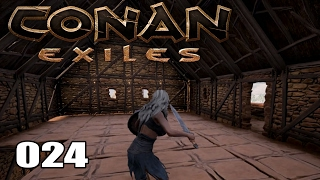 CONAN EXILES [024] [Endlich ein fertiges Haus] [Multiplayer] [Deutsch German] thumbnail