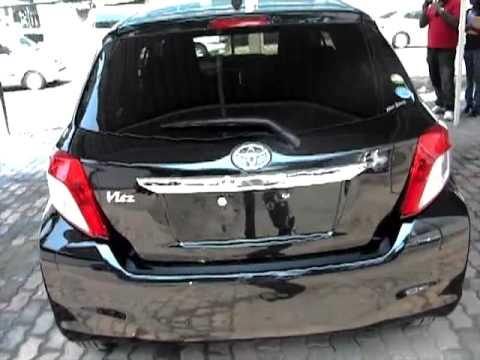 2011 Toyota Vitz Black Youtube