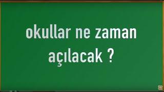 Okullar Ne Zaman Kapanacak 2019 - 15 Tatil Ne Zaman Bitecek