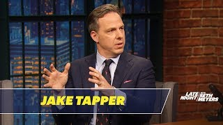 Jake Tapper on Bill Clinton Fumbling Questions About the #MeToo Movement