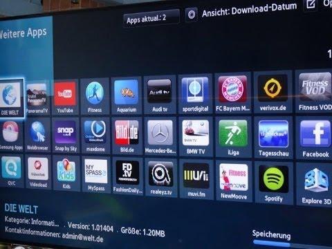 smart tv 3d von samsung der test youtube. Black Bedroom Furniture Sets. Home Design Ideas
