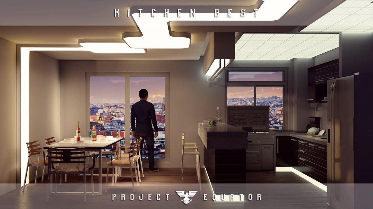 Lumion 6 rendering tutorials 28 kitchen best 3d for Kitchen set 3d warehouse