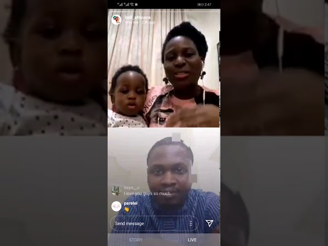 Instagram Live Session With Tobi Asehinde