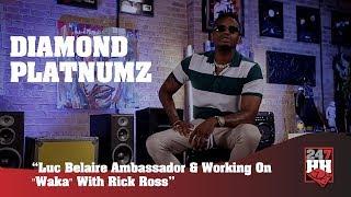 Diamond Platnumz -  Luc Belaire Ambassador & Working On