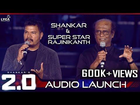 Shankar & Super Star Rajinikanth Speech at 2.0 Audio Launch   Rajinikanth   Shankar   A.R. Rahman