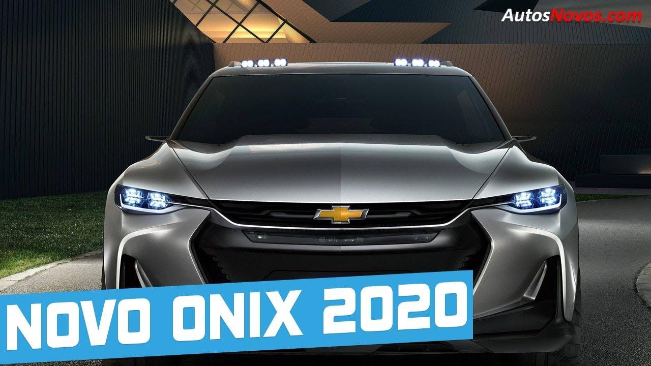 Novo Onix 2020 : Novidades - Autos Novos - YouTube