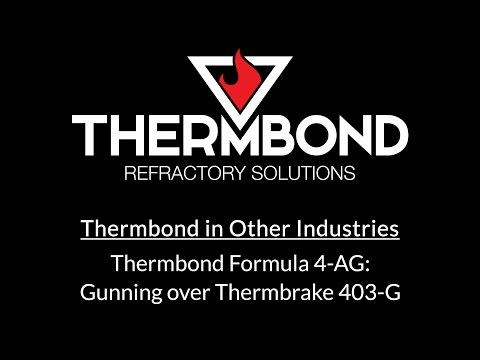 Thermbond Formula 4-AG: Gunned over Thermbrake 403-G