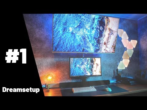 Dreamsetup episode 1 || Best Desksetups