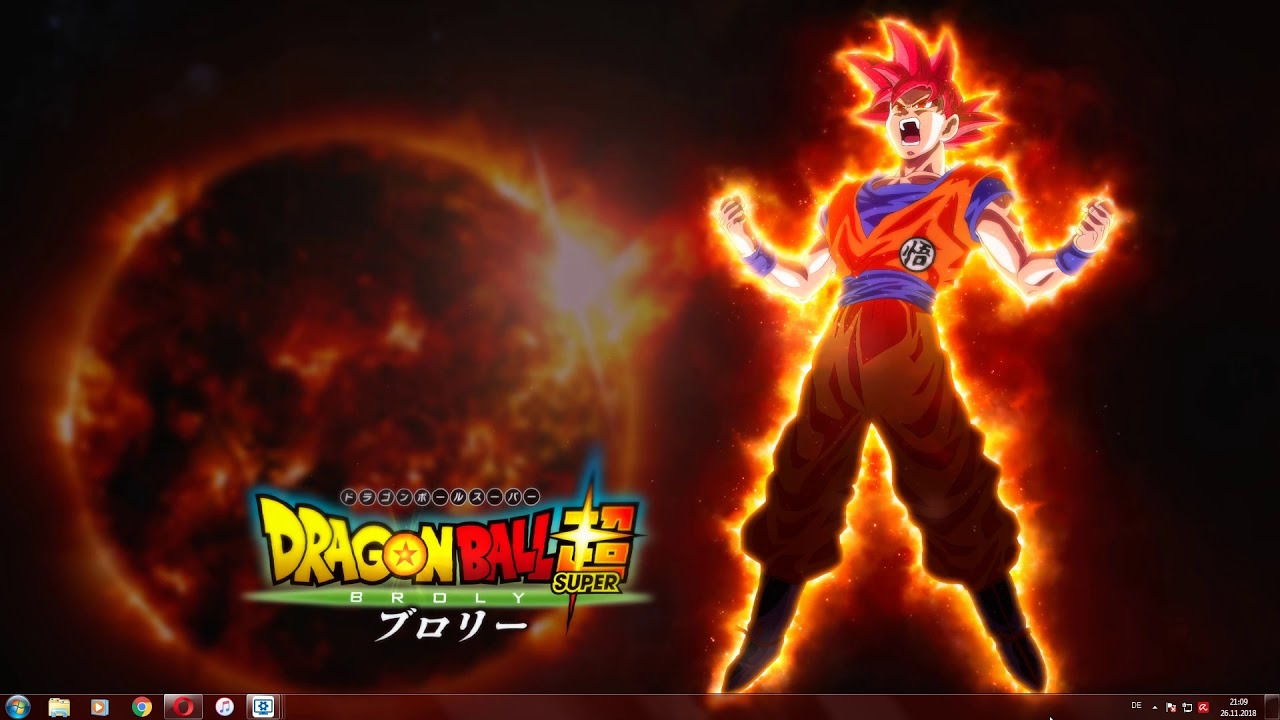 Dragon Ball Super Broly Son Goku Ssg Live Wallpaper 4k