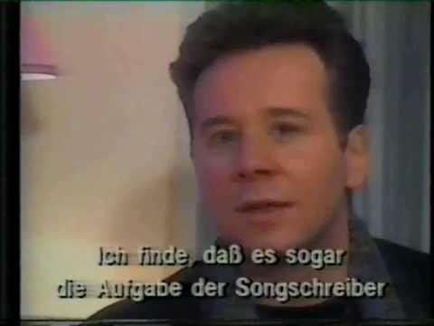 Simple Minds Studio & Interview 1989 German TV
