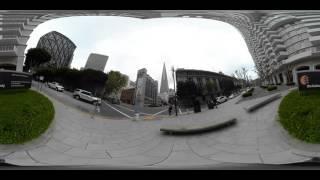 TRANSAMERICA PYRAMID 360° 4K