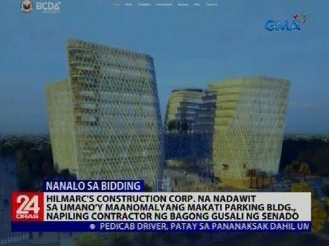 24 Oras: Hilmarc's Construction Corp., napiling contractor ng bagong gusali ng Senado