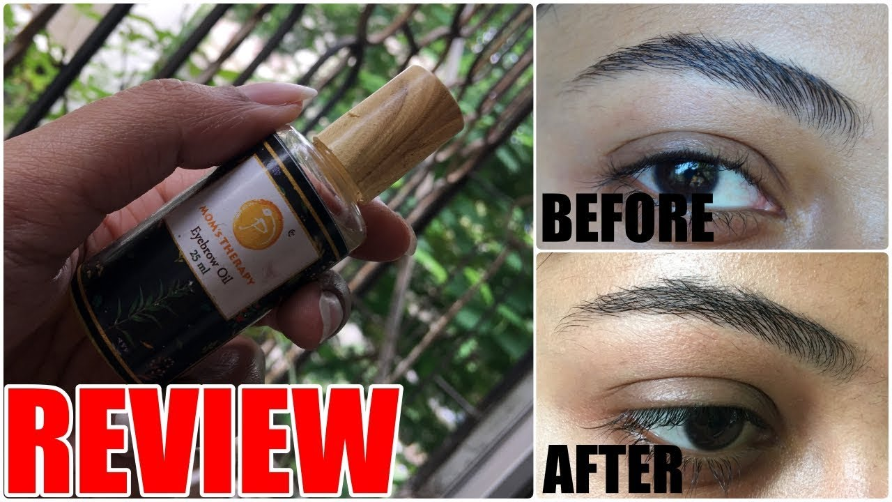 Moms Therapy Eyebrow Oil Review Stacey Castanha Youtube