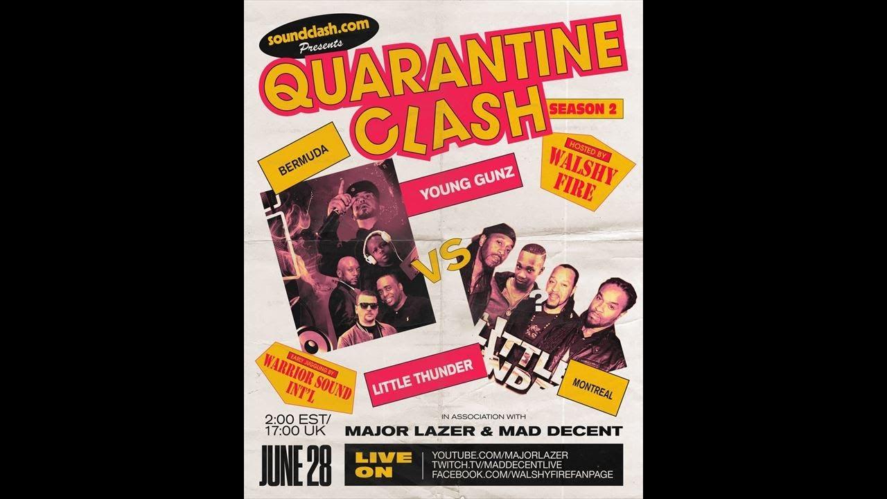 Young Gunz VS Little Thunder #quarantineclash SZN 2
