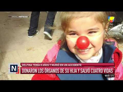 Donaron los órganos de su hija y salvaron cuatro vidas