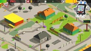 SPLASH CARS Gameplay Deutsch App für iOS & Android - Spiele für Kinder - Wir färben die Stadt ein!