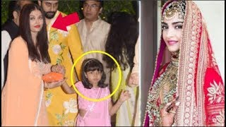 Video Aishwarya Rai With Daughter Aaradhya At Sonam Kapoor's WEDDING Ceremony - Video download MP3, 3GP, MP4, WEBM, AVI, FLV Juni 2018