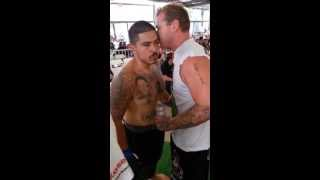 Pre Fight Sebastian Covarrubius MMA Fight- Compound Escondido