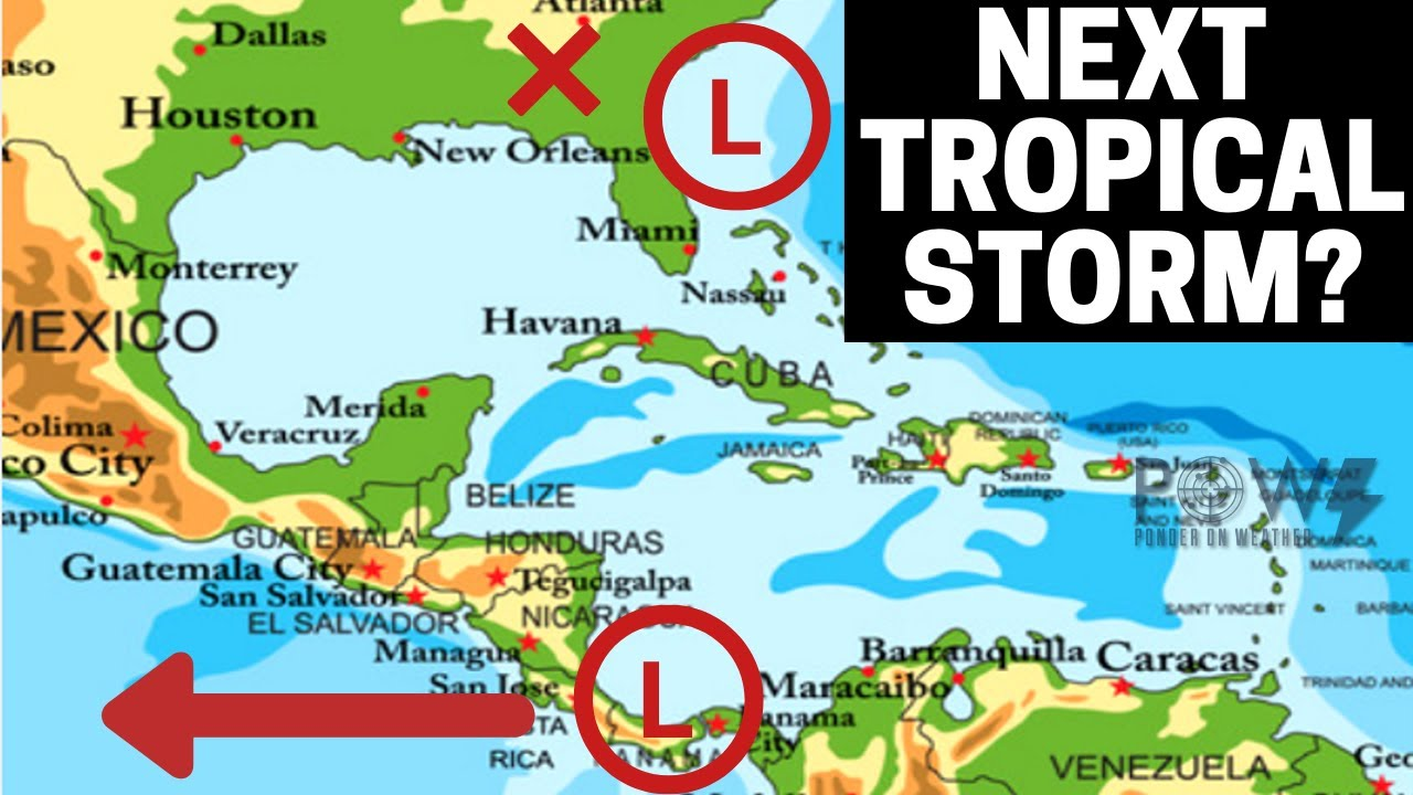 Next Tropical Storm? POW Weather Channel