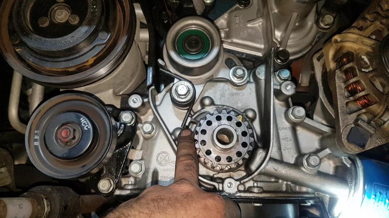 Hyundai Getz timing belt alternator bracket water pump