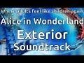 Blackpool Pleasure Beach - Alice in Wonderland Exterior Soundtrack
