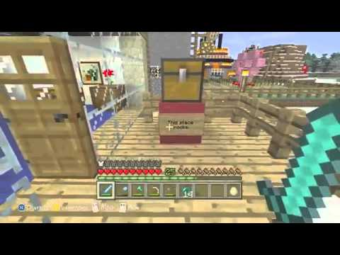 how to make a easter bunny in minecraft