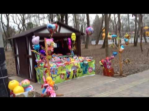 праздник Рождества в нашем парке.г.Невинномысск