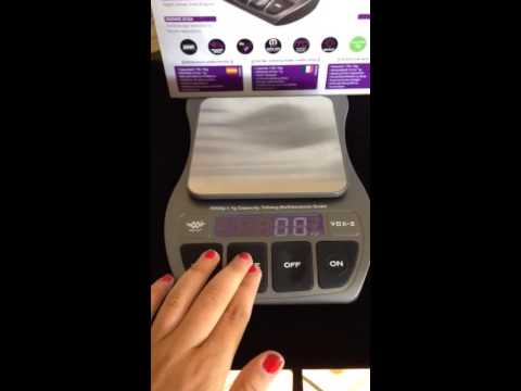 Talking Kitchen Scale For The Visually Impaired