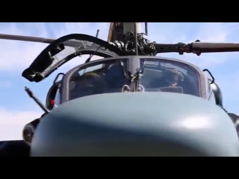 Russian helicopter Kamov 52