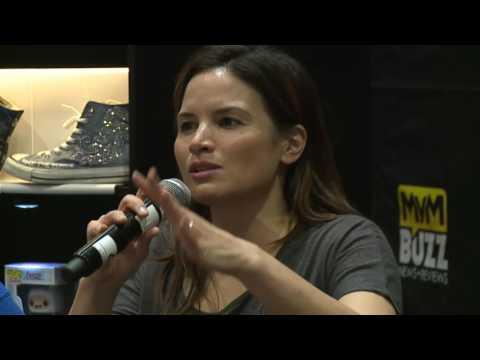 Arrow Stars Katrina Law & Willa Holland @ MCM London Comic Con