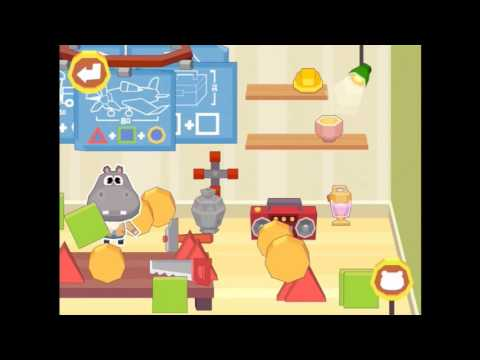 Dr Panda School iPad app demo for kids Ellie