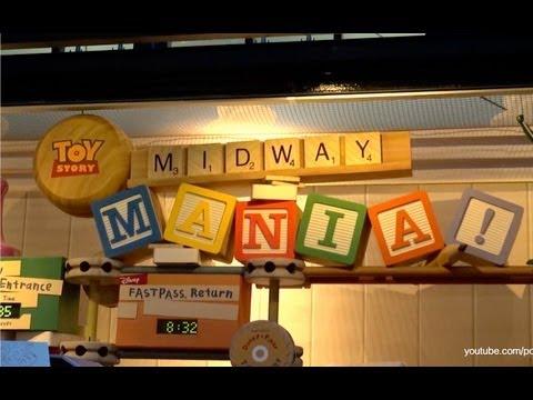Toy Story Midway Mania Complete POV Ride Experience Disney's Hollywood Studios Walt Disney World