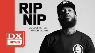 Nipsey Hussle Dead At Age 33 After Being Shot And Killed Outside His Marathon Clothing Store