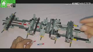 Lepin Technic 20004 Mobile Crane MK II - Lepin Speed build(lego 42009) Pack 1