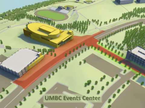 UMBC Campus Fly Over