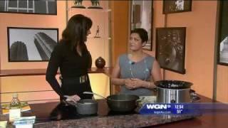Vegan Recipe: Mustard Greens In Slow Cooker On Wgn