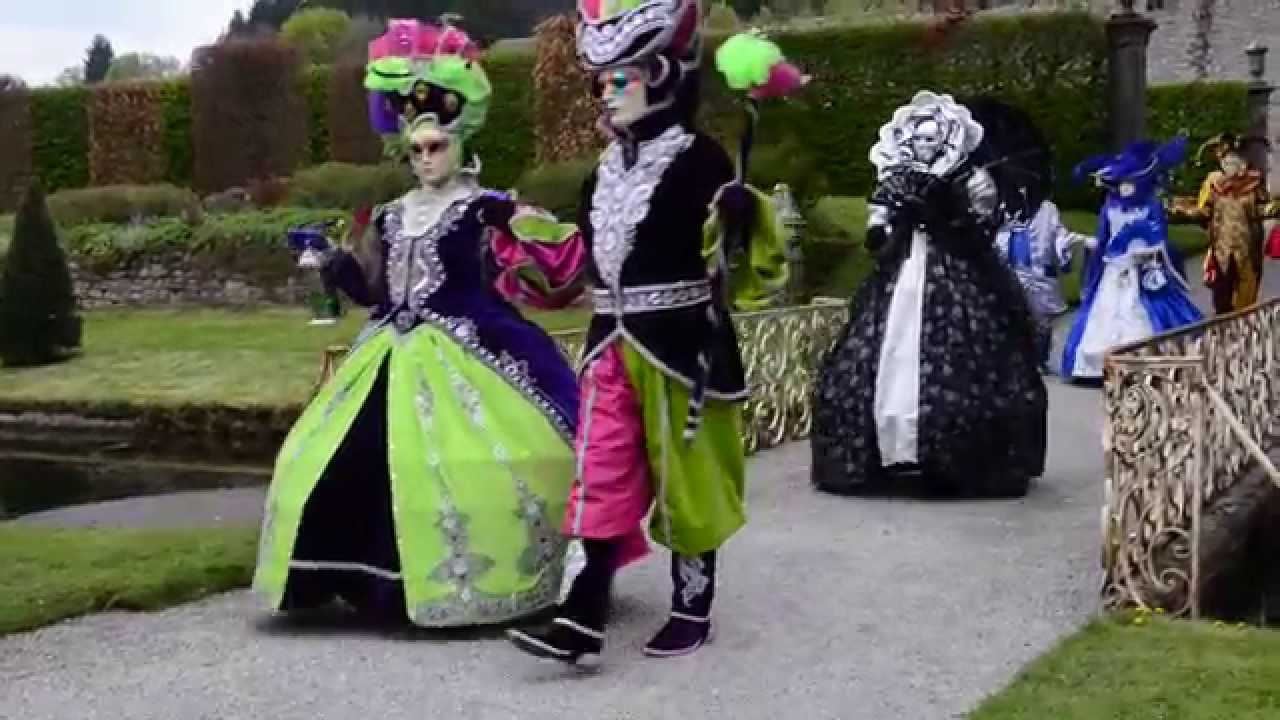 Les costum s de venise aux jardins d 39 annevoie parade iii for Jardin annevoie venise 2015