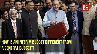 Interim Budget 2019: How is an Interim budget different from a general budget ?