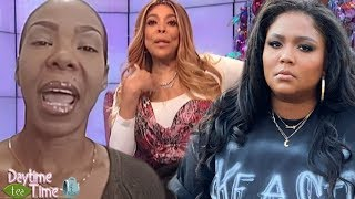 Wendy Williams GOES OFF + Lizzo making BIG MONEY after showing her CHEEKS at basketball game & MORE!
