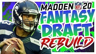 Russell Wilson And Friends - Madden 20 Connected Franchise Fantasy Draft Rebuild