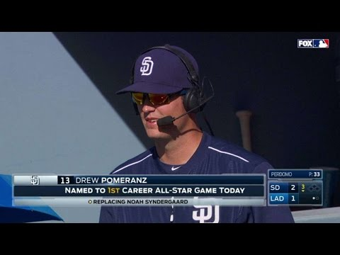 SD@LAD: Pomeranz on going to the All-Star Game - 동영상